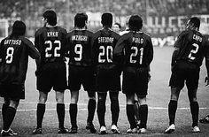 Ac Milan Gattuso, Kaka, Inzaghi, Seedorf, Pirlo And Cafu