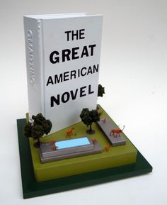 After the Fall (The Great American Novel) | Mixed Media Sculpture