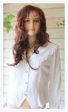 Vintage Designer  Bluse von *Coco Mademoiselle* auf DaWanda.com