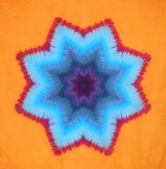 cfdb5874da8e Desert Dyeworks  Star Mandala Tutorial Part 1- Folding Tie Dye Folding  Techniques