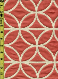 img9588 from LotsOFabric.com! What a clean and complimentary pattern. The soft coral pink and cream can be an accent to almost any palette. Order swatches online or shop The Fabric Shack Home Decor collection in Waynesville, Ohio. #lotsofabric #modernliving #interiordesign #decor #homesweethome #fabric #lifestyle