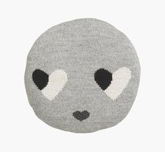 sweetheart chair pillow grey | LuckyBoySunday
