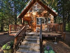 Osprey Nest Cabin: Cozy private cabin on the Wenatchee RiverVacation Rental in Leavenworth from @homeaway! #vacation #rental #travel #homeaway