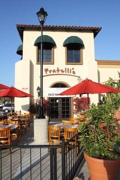 Fratelli's Italian restaurant. Soooooooo delicious!! 3915 Mission Ave  Ste 12  Oceanside, CA 92058