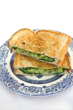 Spinach and Avocado Grilled Cheese