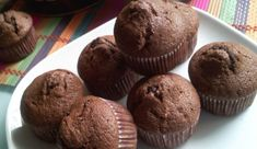 ciocolata-usoara-banane-briose-ww Muffin Light, Weigth Watchers, Weight Watchers Diet, Cake Factory, Ww Desserts, Tasty, Yummy Food, Healthy Muffins, Food Videos