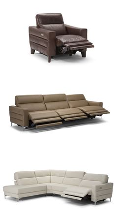 Własny system elektryczny Motion firmy Natuzzi zapewnia doskonałe odprężenie przy minimalnym wysiłku. Stima jest również dostępna jako sofa przekrojowa w wielu konfiguracjach i kolorach. #furniture #interiordesign #sofa #natuzzi #home #meble #kanapy #armchair #sofas #cornersofa Living Room Sofa Design, Home Theater Design, Home Cinemas, Reclining Sofa, Tv Unit, Lounge, Recliners, Couch, Chair