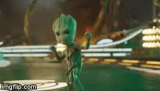 I love how the first, like, 5 minutes of the movie is just a long, uncut scene of him dancing XD Marvel Fan, Marvel Dc Comics, Marvel Heroes, Marvel Characters, Marvel Movies, Gardians Of The Galaxy, Be My Hero, Groot Guardians, I Am Groot