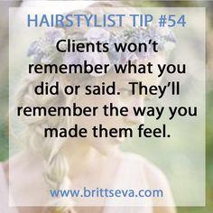 Hairstylist Tip #54