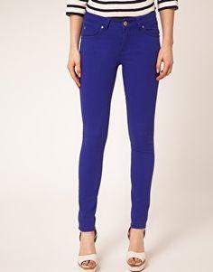 AWear Cobalt Skinny Jean... love these
