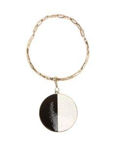 Ceramic-disc necklace   Etro   MATCHESFASHION.COM US