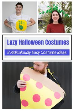 These D.I.Y. Halloween costumes require, at most, the skills of a precocious 6-year-old with access to a glue gun. Lazy Halloween Costumes, Easy Costumes, Halloween Ideas, Lazy People, Toy Chest, Easy Diy, Glue Gun, Group, Board