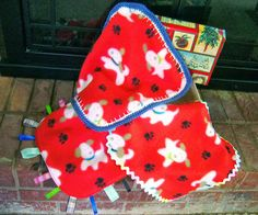 Simply Shoe Boxes: Mini Fleece Lovey Blankies ~ Great for 2 to 4 Year Old Shoe Box Gifts