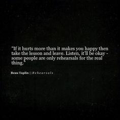 Quotes about Happiness : R E H E A R S A L S instagram.com/
