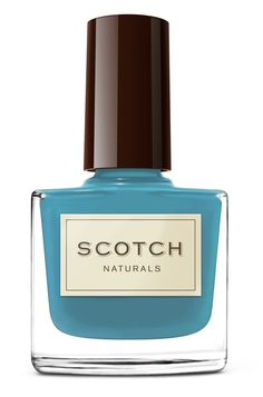 Scotch Naturals Nail Polish - in Loch Ness Mystery #non_toxic #nailpolish #teal #turquoise