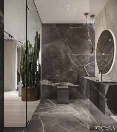 Apartment in Mercury City Tower - Dezign Ark (Beta) Bathroom Design Luxury, Modern Bathroom Decor, Contemporary Interior Design, Interior Design Studio, Luxury Home Decor, Luxury Interior, Home Building Design, House Design, Powder Room Design