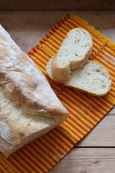 Ciabatta - ein perfektes Baby Brot aus Weizenmehl