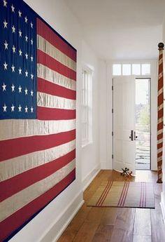 Flag Mural by Karin Blake