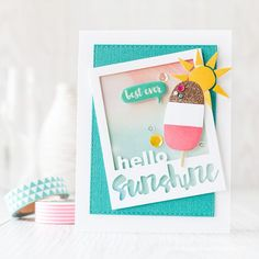 Beat the Heat with Cold Treats by Debby Hughes using Simon Says Stamp Exclusives in a creative way!
