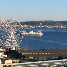 #view  from our #hotel ...#romatic  #weekend  in #seattle . best #husband  ever.