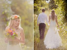 I am in love with this dress.     bohemian trash the dress | Kristin La Voie Photography