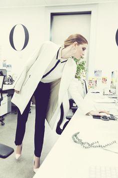 black pants & jacket | photo a.moral