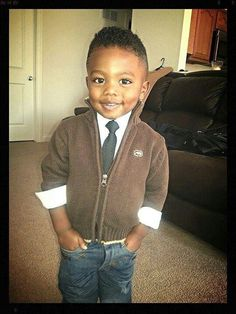 Awwww... Cute and beautiful black kids! love. Handsome. Charming!