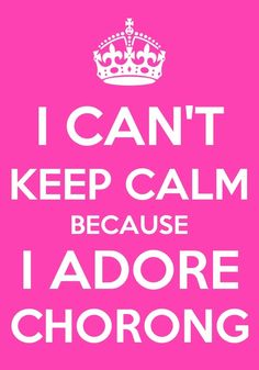 I CAN'T KEEP CALM BECAUSE I ADORE   CHORONG FROM A-PINK!