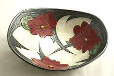 ideas fruit bowl design dishes for 2019 Pottery Bowls, Ceramic Bowls, Ceramic Art, Earthenware, Stoneware, Large Fruit Bowl, Ceramic Tile Bathrooms, Flower Bowl, The Potter's Wheel