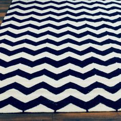 Chevron Dhurrie Rug - 4 colors