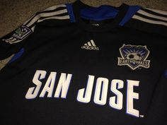 5292a6167d6 Sale Vintage Adidas San Jose Earthquakes Soccer by casualisme Toddler  Football