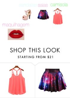 """""""roupa e maquilhagem"""" by ana-s-cunha on Polyvore"""