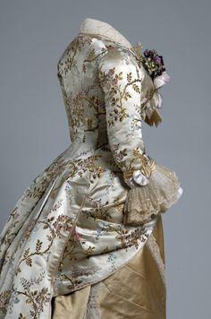 Maria Slozak - 1878 Dinner dress by Pingat #2.