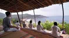 Yoga und Meditation im SwaSwara ****+ in Gokarna in Indien #meditation #gokarna #swaswara #yoga #indien