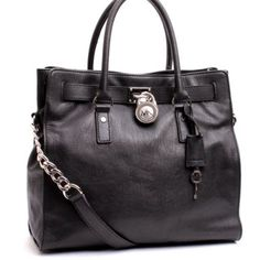 Michael Kors Handbag, Large Hamilton Leather N/S Tote Bag - Getting Grey for Fall!!!
