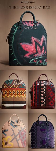 "burberry fall 2014 bolsas A coleção da Cara Delevingne para Mulberry e as bolsas da Burberry @tealnicholson I WANT. I feel like this could have been an ""it bag"""