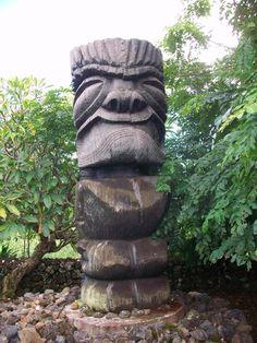 Tikis of Maui Road to Hana