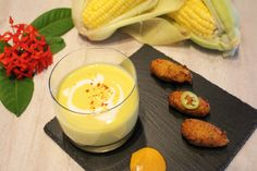 Chilled Corn and Coconut Soup - Taste by Four Seasons | Taste by Four Seasons