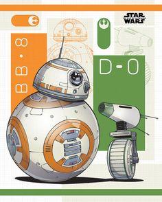 Star Wars: The Rise of Skywalker and Mini Poster – Best Amigurumi Bb8 Star Wars, Star Wars Fan Art, Star Wars Birthday, Star Wars Party, Amigurumi For Beginners, Drawing Stars, Star Wars Drawings, Art Drawings, Star Wars Tattoo