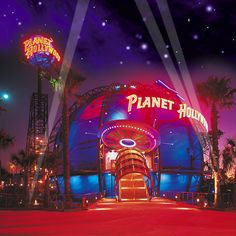 Planet Hollywood Orlando ~ cool place. I love Downtown Disney.