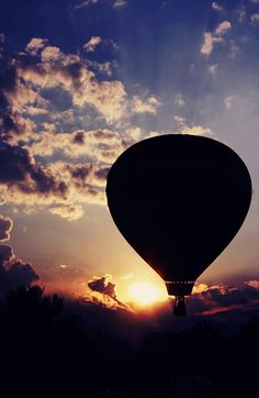 hot air balloon. I have always wanted to go in a hot air ballon