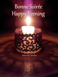 By Éphémeride seasonal calender Happy Evening, Candle Jars, Candles, Calendar, Seasons, Season Calendar, Random Stuff, Seasons Of The Year, Candy