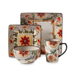 Misto Odessa Square Dinnerware Collection  I Currently Need 4 Square Dinner  Plates And 4 Bowls.