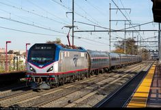 RailPictures.Net Photo: AMTK 650 Amtrak Siemens ACS-64 at Elizabeth, New Jersey by Christopher Gore