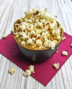 wasabi popcorn. I need to try this!!  @Uyen Truong you should try this too!