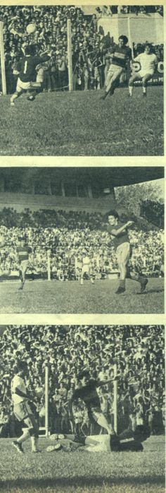 Boca Juniors - 3 goles de Curioni en el 7-1 contra Estudiantes de La Plata - año 1972
