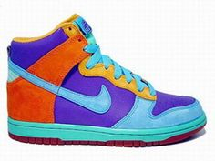 best sneakers ec58a b7ef3 Nike Dunk High 6.0 Pure Purple Bright Multi Colored