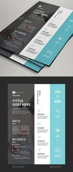 Buy Multipurpose Corporate Flyer Designs by Comodensis on GraphicRiver. Corporate Design, Corporate Flyer, Business Design, Flyer Layout, Brochure Layout, Business Flyer Templates, Flyer Design Templates, Company Profile Design, Creative Brochure
