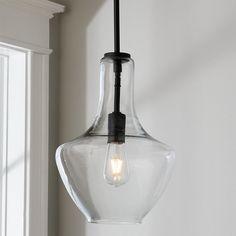 Drake Glass Pendant - Medium - Shades of Light