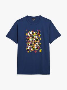 t-shirt coulos Mel Bernstine bleu foncé | agnès b. T Shirt, Mens Tops, Collection, Fashion, Deep Blue, Supreme T Shirt, Moda, Tee, Fashion Styles